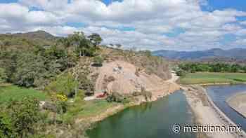 Modifican y refuerzan punto erosionado por el río Ameca entre Los Sauces y Aguamilpa - Meridiano.mx