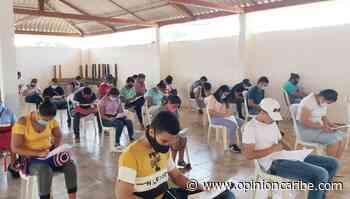 Jóvenes de Sitionuevo realizaron examen para adquirir becas de educación técnica - Opinion Caribe