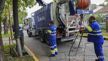 El gobierno municipal realiza tareas de limpieza de sumideros en Carapachay - SMnoticias