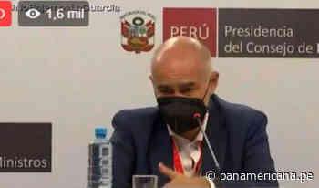 Ministro Quijandría: Hemos visto casos de vacunación ilegal en Loreto y Abancay | Panamericana TV - Panamericana Televisión