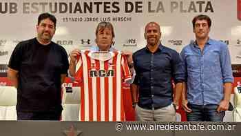 Copa Diego Maradona: Estudiantes (LP) presentó a Ricardo Zielinski como su nuevo entrenador - Aire de Santa Fe