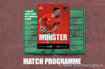 Digital Match Programme | Munster v Scarlets - Munster Rugby - Munster Rugby