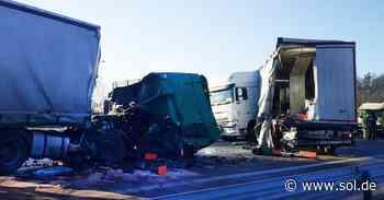 Schwerer Unfall bei Homburg: A6 gesperrt, Fahrer verletzt - sol.de