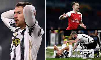 Tottenham 'considering shock summer move for Aaron Ramsey' with Liverpool and Everton also keen