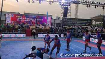 47th Junior National Kabaddi Championship: The race for the semis have begun - Pro Kabaddi