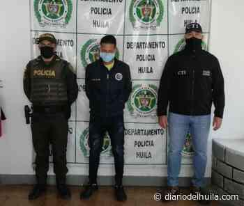 Hombre fue capturado en Isnos por acceso carnal violento - Diario del Huila