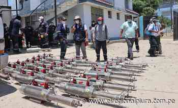 Diresa entrega 25 máquinas termonebulizadoras a subregión de Morropón Huancabamba para reforzar lucha contra el dengue - El Regional
