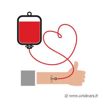 Don du sang jeudi 1 avril 2021 - Unidivers