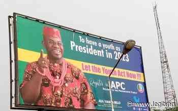 Bello for president in 2023 as posters flood Yenagoa, Port Harcourt, Warri - Legit.ng
