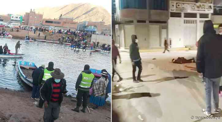 Puno: siete delincuentes huyeron de la Policía por río Desaguadero a Bolivia - LaRepública.pe