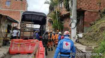 44 viviendas fueron evacuadas definitivamente en el barrio Olaya Herrera - Telemedellín