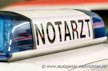 Unfall auf B10 bei Schwieberdingen - 27-jähriger Motorradfahrer stürzt und verletzt sich schwer - Stuttgarter Nachrichten