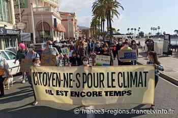 Appel à manifester pour défendre la loi climat à Nice, Menton et à Beausoleil ce dimanche - France 3 Régions