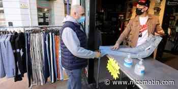 VIDEO. À Menton, les commerces non essentiels autorisés à vendre dehors - Nice-Matin