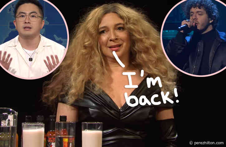 Maya Rudolph Returns As Host & Bowen Yang Sounds OFF On Anti-Asian Hate -- Here Are All The Best SNL Moments!
