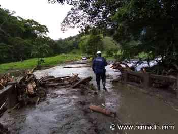 Represamiento de quebradas tienen en alerta a Santa Rosa de Cabal, en Risaralda - RCN Radio