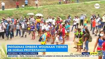 Siguen las protestas en Metetí exigiendo construcción de puente - TVN Panamá