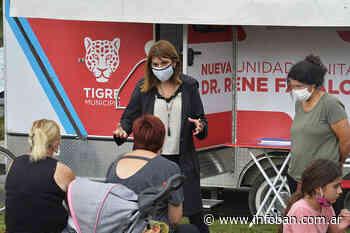 """En General Pacheco, Gisela Zamora participó de una nueva edición del programa municipal """"Tigre con vos"""" - InfoBan"""