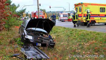 Amtsgericht Bad Liebenwerda: Rettungswagen kracht bei Rot in Pkw – Amtsgericht belegt Krankenwagenfahrer mit Geldstrafe - Lausitzer Rundschau