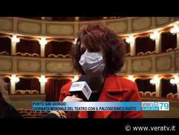 Porto San Giorgio - Giornata mondiale del teatro con il palcoscenico vuoto - Vera TV