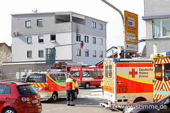Wohnungsbrand in Bad Friedrichshall - Heilbronner Stimme