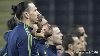 Zlatan Ibrahimovic: Im 117. Länderspiel singt er erstmals Nationalhymne - WELT