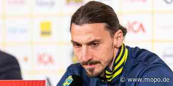 Schweden-Comeback: Zlatan Ibrahimovic (39) weint fast – und singt erstmals die Hymne - Hamburger Morgenpost