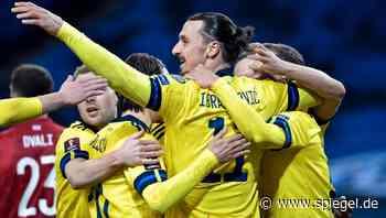 Ibrahimović-Comeback für Schweden: »Es hat in meinem Magen gekitzelt« - DER SPIEGEL