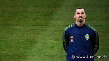 Zlatan Ibrahimovic singt erstmals die schwedische Hymne mit - t-online.de