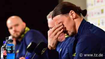 Zlatan Ibrahimovic: Tränen beim Superstar! Emotionale PK-Frage bringt den Star zum weinen - tz.de