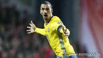 """""""Gottes Rückkehr"""": Zlatan Ibrahimovic kämpft vor Schweden-Comeback mit den Tränen - Eurosport DE"""