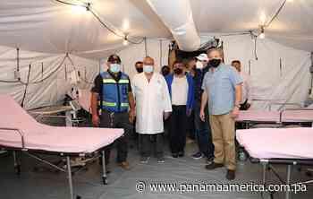 Hospital móvil donado por Estados Unidos fue inaugurado en Aguadulce - Panamá América