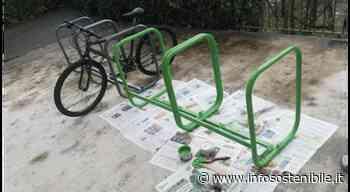 Zogno: da banchi a porta-biciclette. Un video dagli alunni di 5° BM - infoSOStenibile