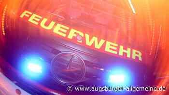 Dachterrassenanbau brennt: Feuerwehr-Einsatz in Gebenhofen - Augsburger Allgemeine