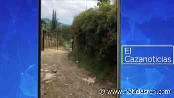 El Cazanoticias: un portón obstruye una vía en Cachipay, Cundinamarca - Noticias RCN