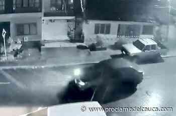 En video quedó registrado robo de camioneta en Villa Rica – Proclama - Proclama del Cauca