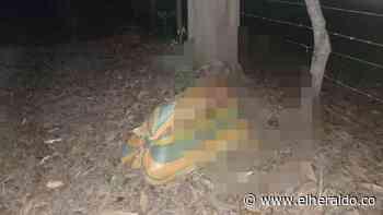 En Tierralta hallan cadáver dentro de un costal - EL HERALDO