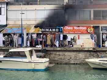 Près de Montpellier. Palavas-les-Flots : un commerce est en feu - actu.fr