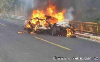 Mueren calcinados tres adolescentes por accidente en la carretera Tierra Colorada-Ayutla - La Prensa