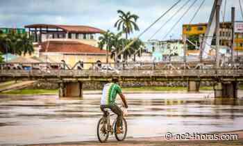 Rio Acre apresenta vazante e amanhece abaixo da cota de transbordamento - ac24horas.com
