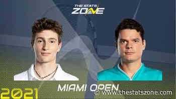 2021 Miami Open Third Round – Ugo Humbert vs Milos Raonic Preview & Prediction - The Stats Zone