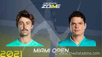 2021 Miami Open Second Round – Jordan Thompson vs Milos Raonic Preview & Prediction - The Stats Zone