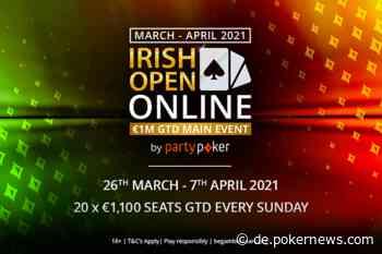 Hier finden Sie den kompletten 2021 Irish Open Turnierplan