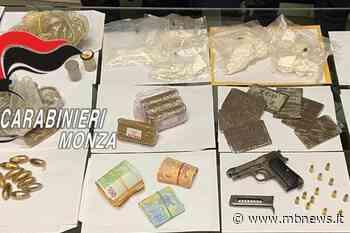 Nova milanese, droga in auto e in casa, in box una pistola: 30enne in manette - MBnews