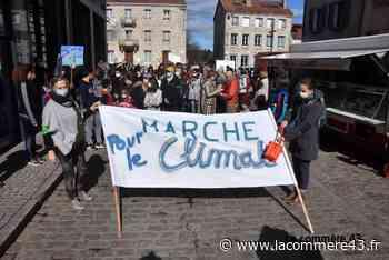 """Monistrol-sur-Loire : 100 marcheurs réclament """"une vraie loi climat"""" - La Commère 43"""