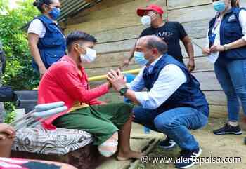Defensor del Pueblo se reunió con niño que pisó mina en Murindó, Antioquia - Alerta Paisa