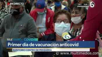 Vine solita a vacunarme porque mi esposo murió de Covid-19 - Multimedios