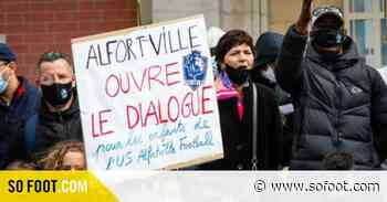 On était avec Véronique Rabiot à la manifestation de l'US Alfortville - SO FOOT