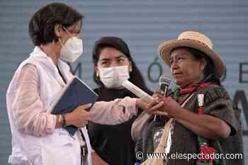 ExFarc se comprometen con la búsqueda de los desaparecidos en Caldono, Cauca - El Espectador
