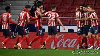 El Atlético calca los números que le dieron la Liga de 2014 - OKDIARIO